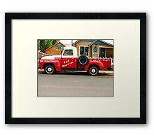Hillbilly Limo Framed Print