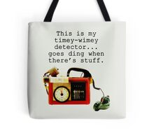 Timey Wimey Detector, Doctor Who Tote Bag