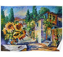 GREEK NOON limited edition giclee of L.AFREMOV painting Poster