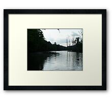 SOUTH HOLSTON TAILWATERS Framed Print