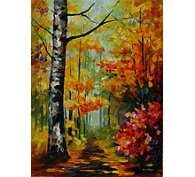 SOUL TIME limited edition giclee of L.AFREMOV painting Photographic Print