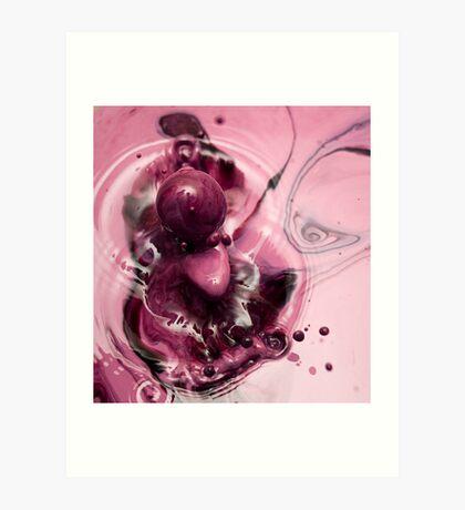 Purple Tongue Art Print