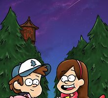 Gravity Falls by toibi
