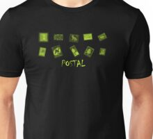 Postal World Stamps Unisex T-Shirt