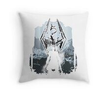 The Winterguard Throw Pillow