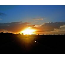 Floridian Sunset Road Photographic Print