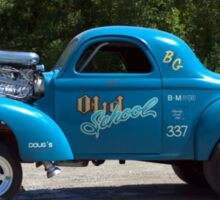 1941 Willys Dragster Sticker