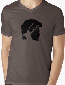 Prongs Mens V-Neck T-Shirt