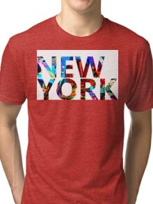 NEW YORK Times Square Tri-blend T-Shirt