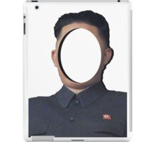 No-Face: Supreme Leader Kim Jong-un iPad Case/Skin