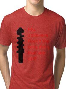 Stiff Coilovers COLORS Tri-blend T-Shirt