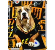 Steeler Pup iPad Case/Skin