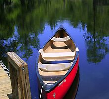 Lone Canoe 2 by Wendy Mogul