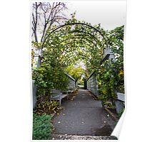Garden Tunnel Poster