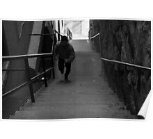 Exorcist Stairs - Georgetown Poster