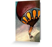 On Letting Go 2 Greeting Card