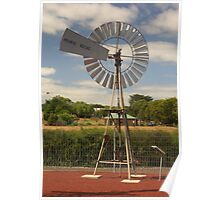 Small windmill Poster