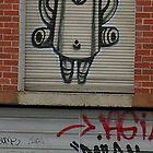 Robot Graffiti  by Lesley  Hill