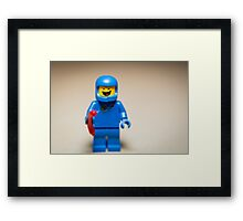 Benny from the Lego Movie Framed Print