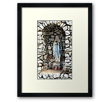 Holy Mary Framed Print