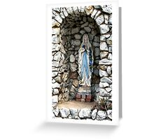 Holy Mary Greeting Card