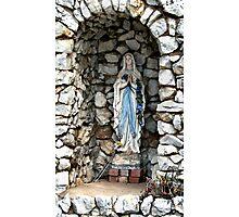 Holy Mary Photographic Print