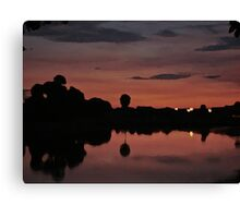 Nocturnal Reflections Canvas Print