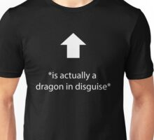 Dragon in Disguise Tee Unisex T-Shirt