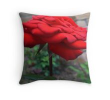 It is at the edge of the petal that love waits Throw Pillow