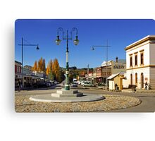 Ford and Camp Streets - Beechworth Canvas Print
