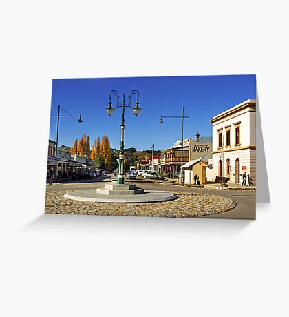 Ford and Camp Streets - Beechworth Greeting Card
