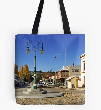 Ford and Camp Streets - Beechworth Tote Bag