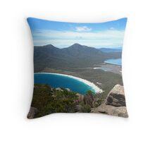 Freycinet and Wineglass Bay Throw Pillow