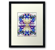 Unsplit Minds Framed Print