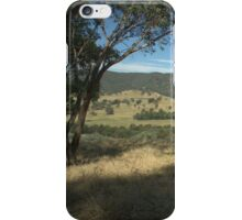 View over the hills iPhone Case/Skin