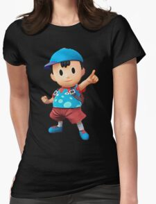 ness = fresh Womens Fitted T-Shirt