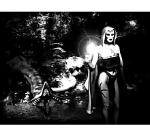 The Sorceress Among Us Photographic Print
