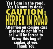 CAUTION: Herper T-Shirt