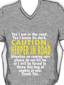 CAUTION: Herper T-Shirt