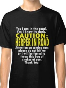 CAUTION: Herper Classic T-Shirt