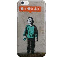 Banksy - Crying Kid iPhone Case/Skin