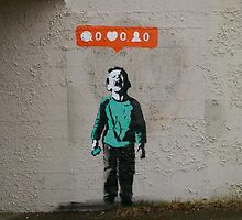Banksy - Crying Kid by CarlosAvila