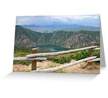 COLORADO HIGH Greeting Card