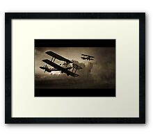 Mission Successful - Sepia Framed Print