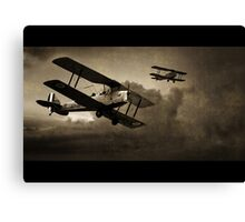 Mission Successful - Sepia Canvas Print