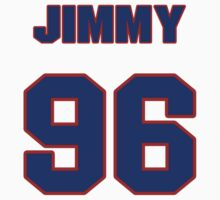 National football player Jimmy Wilkerson jersey 96 by imsport