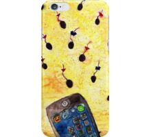 Where the sperm girl sperm boy meet! iPhone Case/Skin