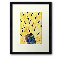 Where the sperm girl sperm boy meet! Framed Print