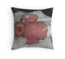 Welcome to the World Throw Pillow
