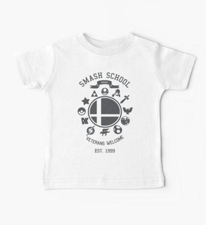 Smash School - Smash Veteran Baby Tee